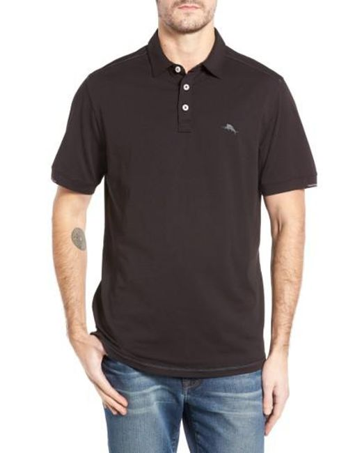 Tommy Bahama | Black Tropicool Spectator Polo for Men | Lyst