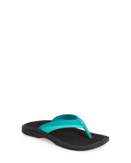 Olukai - Blue 'ohana' Sandal - Lyst
