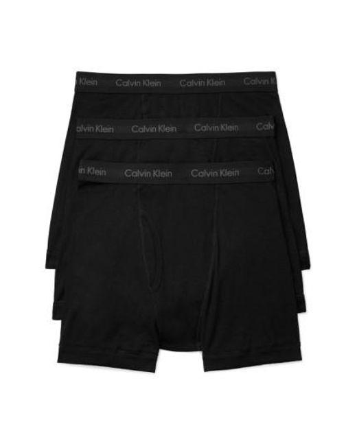 Calvin Klein | Black 3-pack Boxer Briefs, White for Men | Lyst