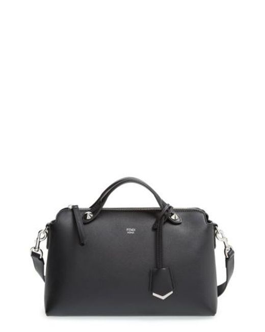 Fendi | Black Small By The Way Leather Cross-Body Bag | Lyst