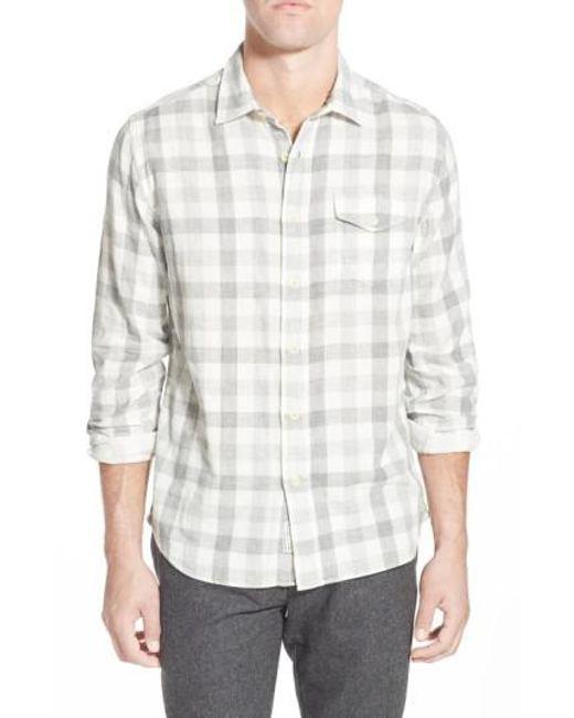 Grayers | Gray 'durham' Regular Fit Check Sport Shirt for Men | Lyst