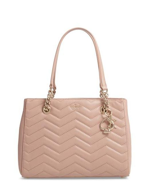 Kate Spade - Multicolor Reese Park Courtnee Leather Tote - - Lyst