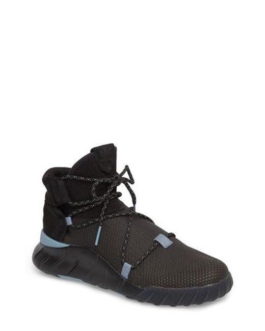 Adidas Tubular X Primeknit Black Grey Sesame Comptaline