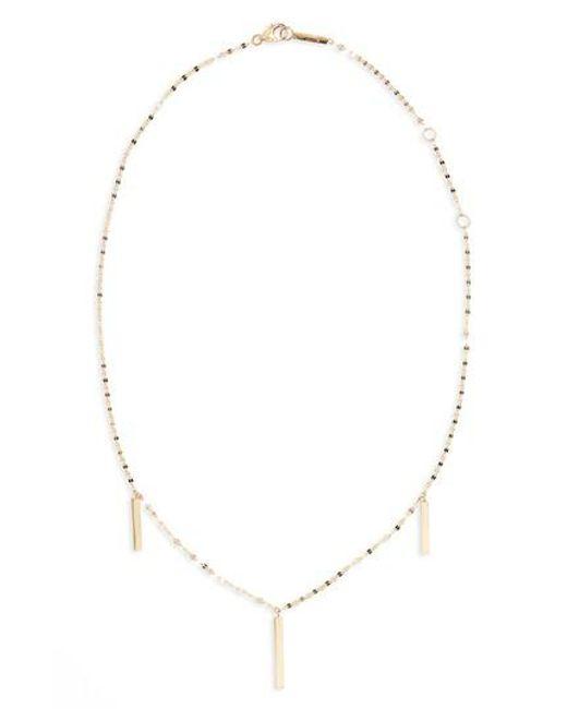 Lana Jewelry | Metallic Station Necklace | Lyst