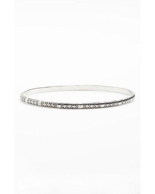 Konstantino - Metallic 'classics' Etched Bangle - Lyst