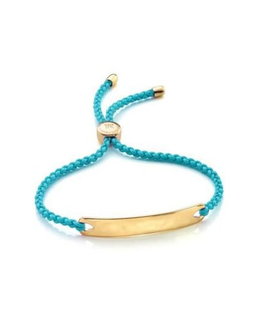 Monica Vinader | Metallic 'havana' Friendship Bracelet | Lyst
