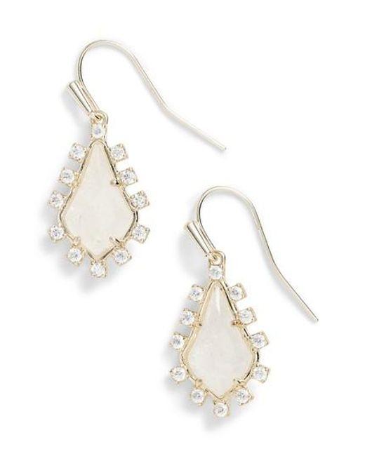 Kendra Scott | Metallic Juniper Drop Earrings | Lyst
