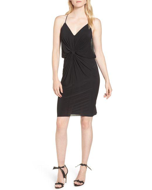 MISA - Black Domino Dress - Lyst