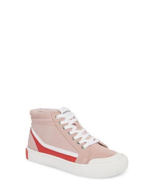 Calvin Klein Jeans DODIE - Trainers - chintz rose/white/tomato su3PCRjF