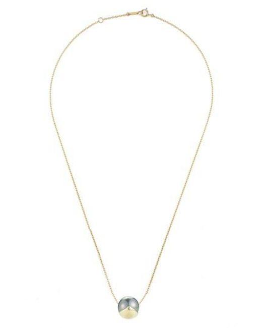 Mizuki | Metallic Sea Of Beauty Pearl Pendant Necklace | Lyst