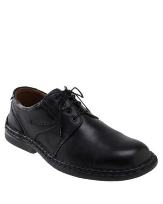 Josef Seibel - Black 'walt' Casual Oxford for Men - Lyst