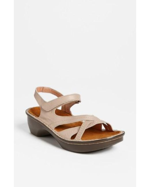Naot | Natural 'paris' Sandal | Lyst