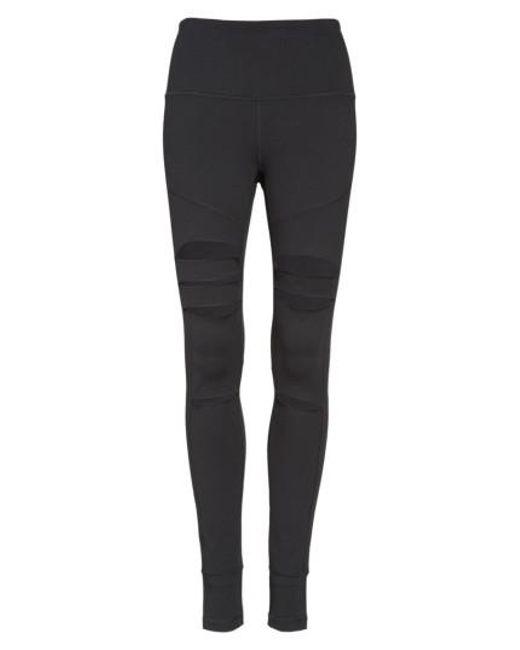Zella - Black Cece High Waist Open-knee Leggings - Lyst