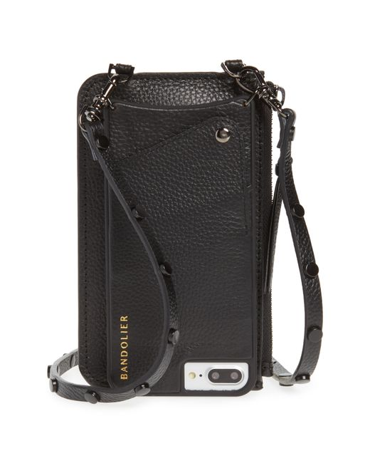 Bandolier - Black Jane Leather Iphone 7/8 & 7/8 Plus Crossbody Case - Lyst