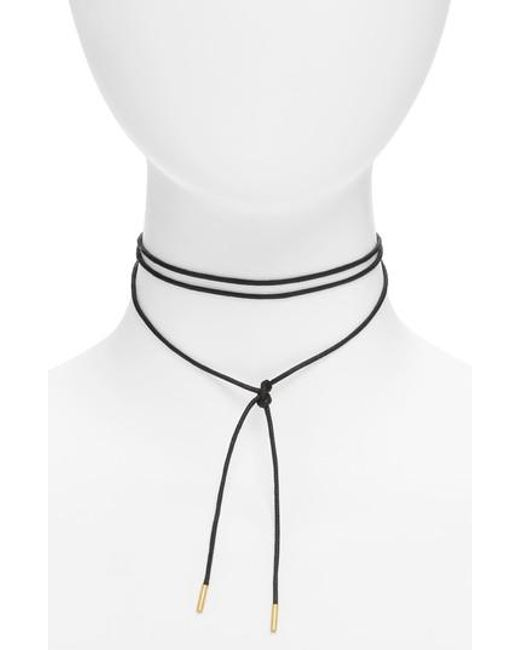 Madewell | Multicolor Wrap Choker Necklace | Lyst