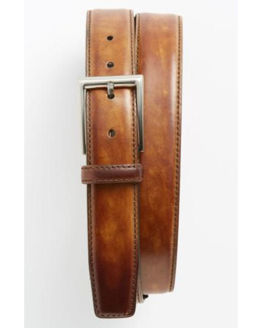 Magnanni Shoes | Metallic 'catalux' Belt for Men | Lyst