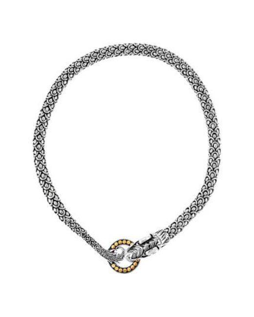 John Hardy - Metallic Legends Naga Dragon Necklace - Lyst