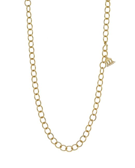 Temple St. Clair - Metallic Temple St. Clair Classic Oval Chain Necklace - Lyst