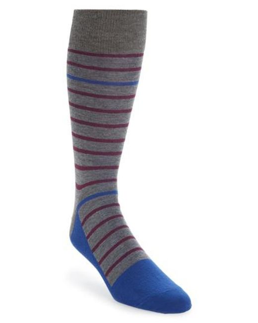 Calibrate | Multicolor Stripe Socks for Men | Lyst