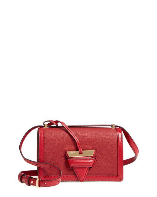 Loewe - Natural Small Barcelona Grainy Leather Crossbody Bag - - Lyst