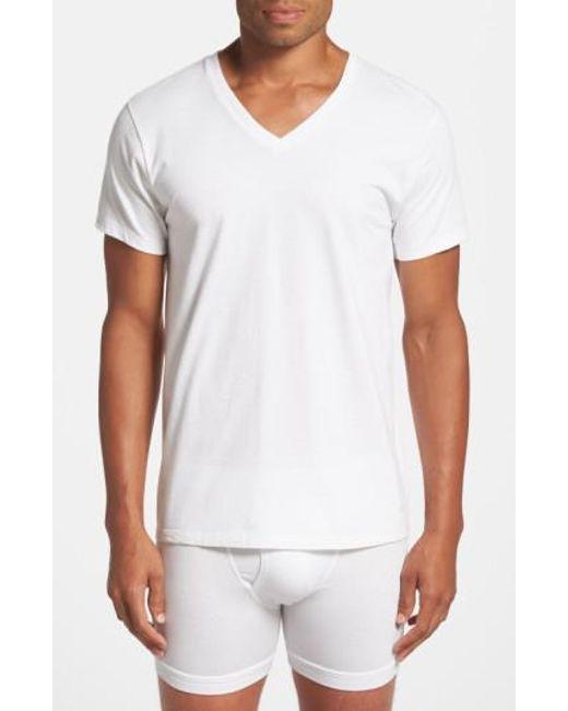 Calvin Klein   2-pack Cotton T-shirt, White for Men   Lyst