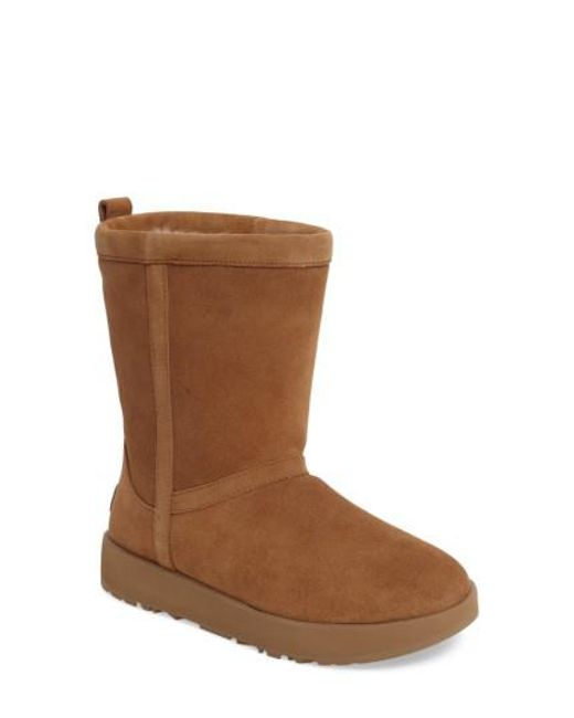 Ugg - Brown Ugg Classic Water Resistant Boot - Lyst