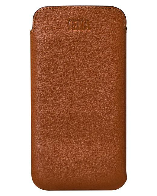Sena - Brown Ultraslim Iphone 6/7/8 Plus Leather Sleeve - Lyst