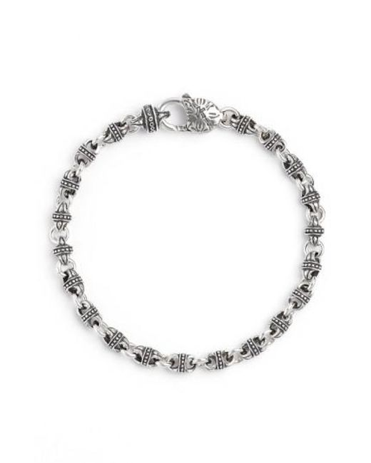 Konstantino | Metallic Silver Classics Link Bracelet | Lyst
