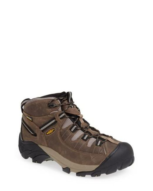 Keen | Brown 'targhee Ii Mid' Hiking Boot for Men | Lyst