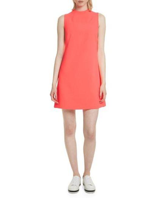 Alice + Olivia - Orange Coley A-line Shift Dress - Lyst