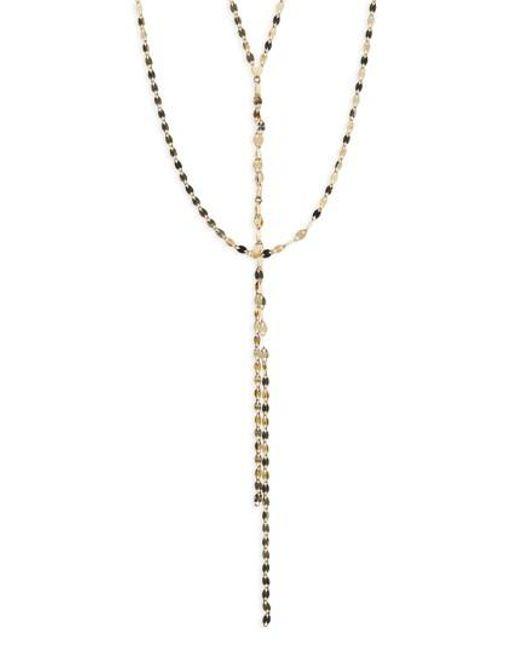 Lana Jewelry | Metallic 'blake' Lariat Necklace | Lyst