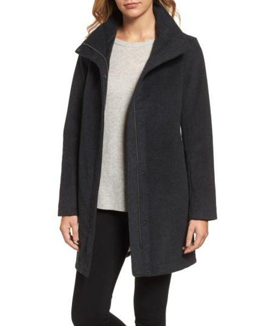 Pendleton | Gray Campbell Waterproof Boiled Wool Coat | Lyst