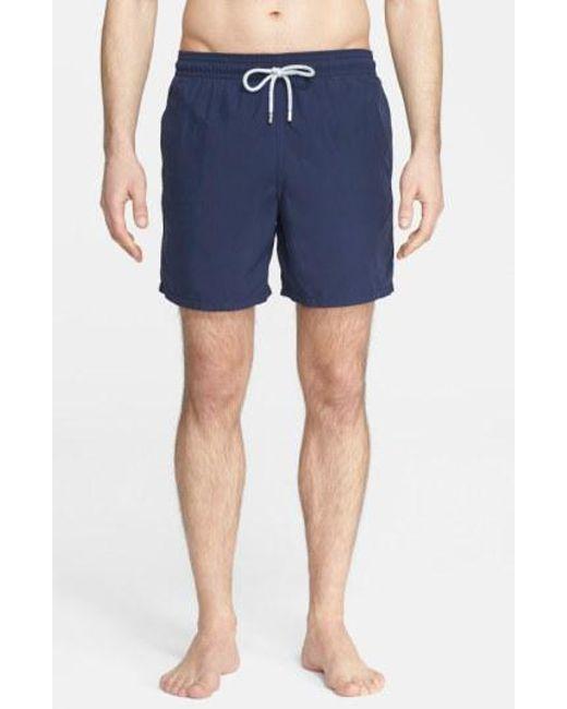 Vilebrequin | Blue 'moorea' Swim Trunks for Men | Lyst