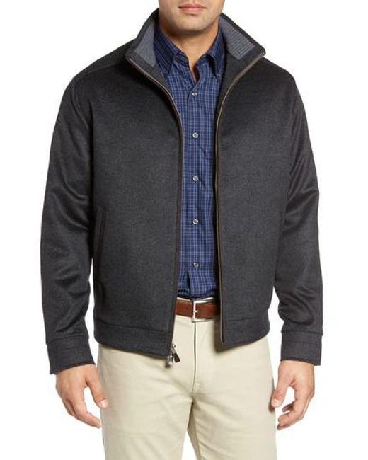 Peter Millar   Gray Westport Wool & Cashmere Jacket for Men   Lyst