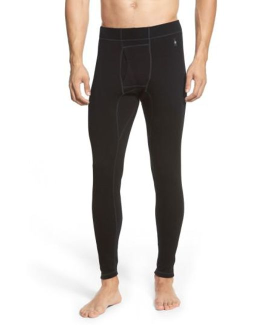 Smartwool - Black Layering Pants for Men - Lyst