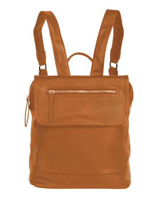 Urban Originals - Brown Lovesome Vegan Leather Backpack - Lyst