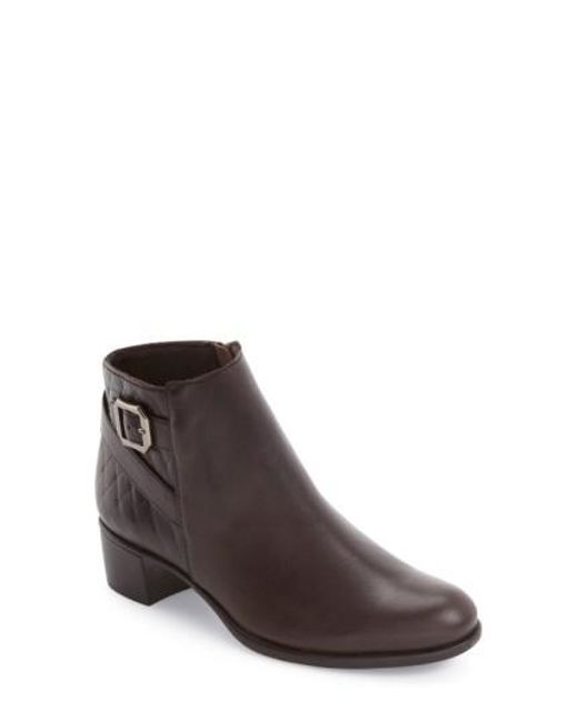 Munro - Brown 'Jolynn' Boot - Lyst
