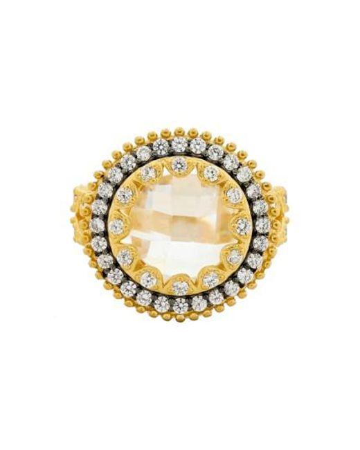 Freida Rothman | Metallic 'metropolitan' Cocktail Ring | Lyst