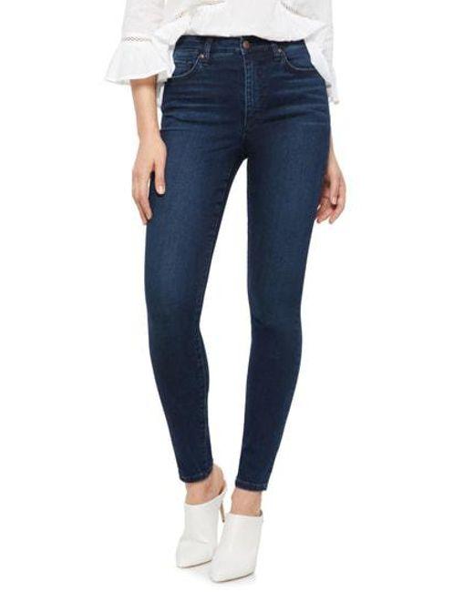 Joe's - Blue Charlie High Rise Skinny Jeans - Lyst