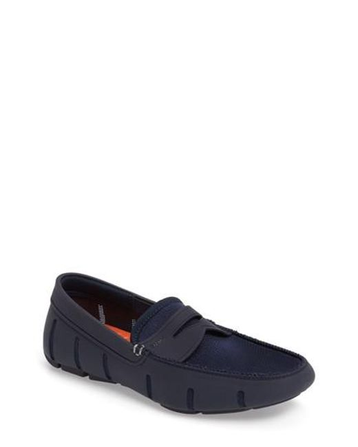 Swims - Blue Penny Loafer for Men - Lyst