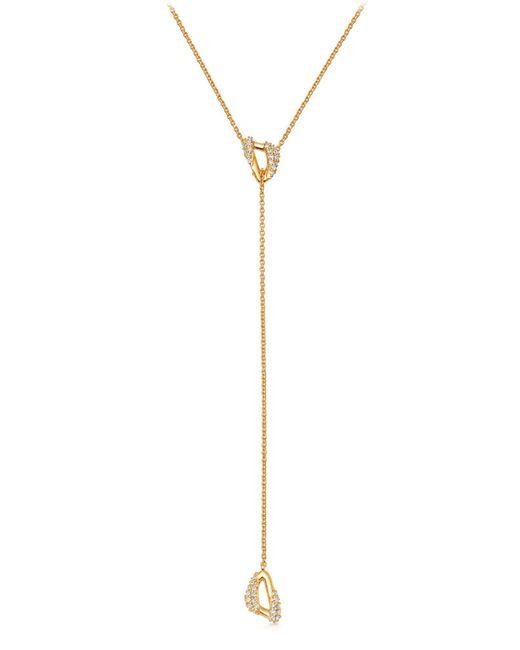 Astley Clarke - Metallic Mini Vela Lariat Necklace - Lyst