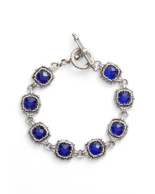 Konstantino - Blue Andromeda Lapis Bracelet - Lyst
