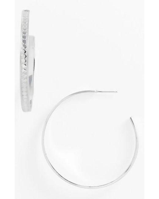Anna Beck   Metallic Bali Large Hoop Earrings   Lyst