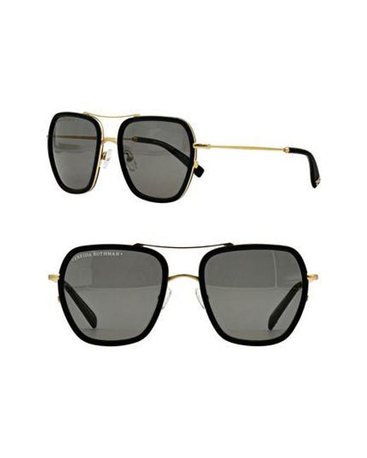 Freida Rothman | Black Breckenridge 53mm Aviator Sunglasses | Lyst