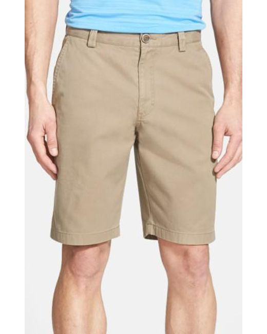 Cutter & Buck | Brown 'beckett' Shorts for Men | Lyst