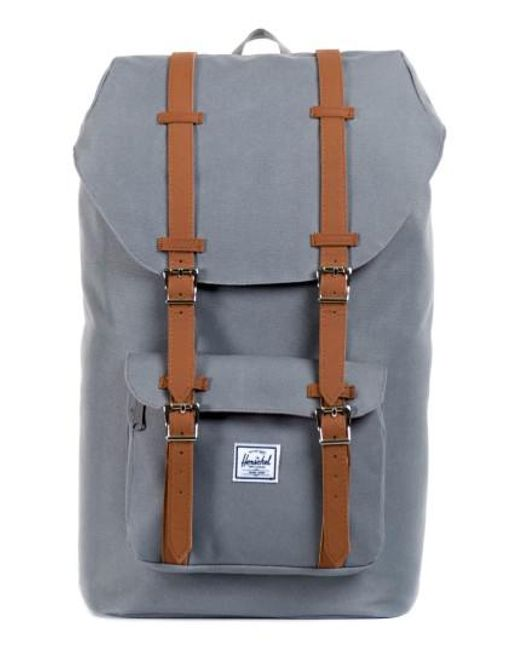 Herschel Supply Co.   Gray 'little America' Backpack for Men   Lyst