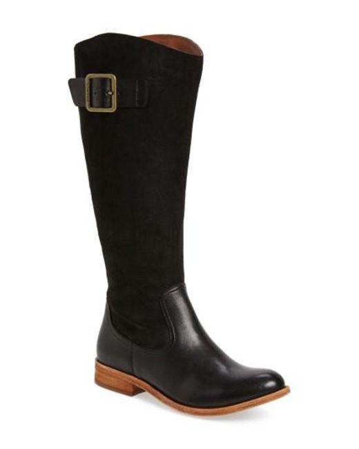 Kork-Ease | Black Kork-ease Rue Tall Boot | Lyst