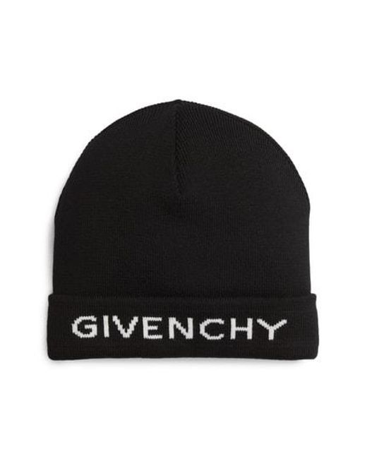 497d8944c8b Lyst - Givenchy Logo Beanie - in Black for Men