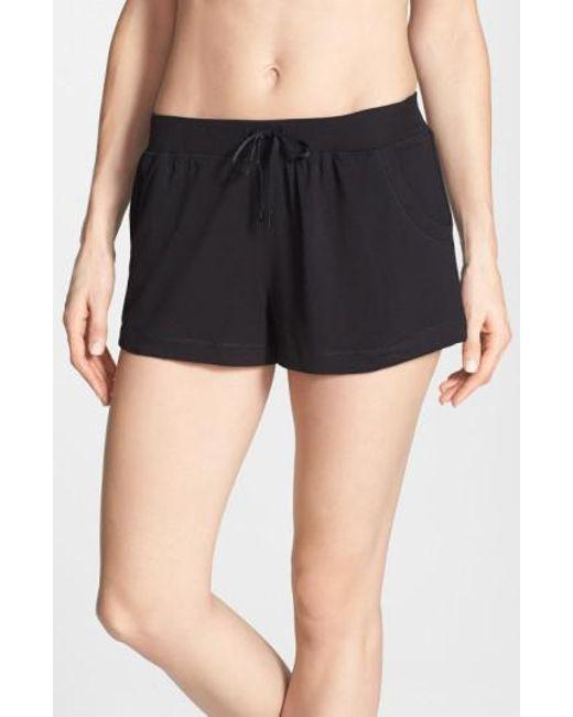 DKNY   Gray 'city Essentials' Shorts   Lyst