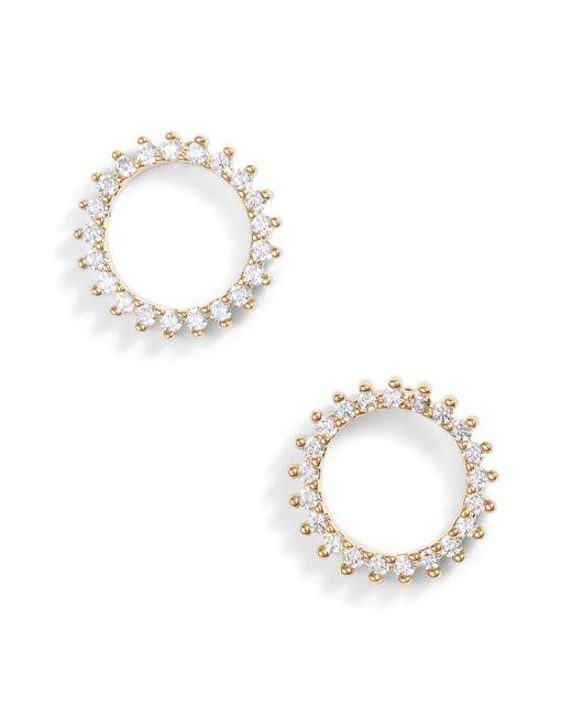 Nordstrom - Metallic Pave Open Starburst Stud Earrings - Lyst